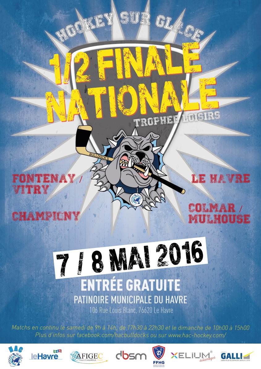 Trophée Loisirs : Demi-finale nationale, l'affiche !!!