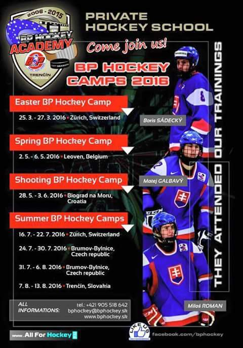 BP Hockey Camps 2016