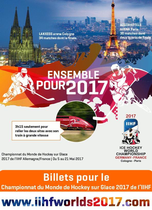 Championnat du Monde de Hockey sur Glace 2017 de l'IIHF
