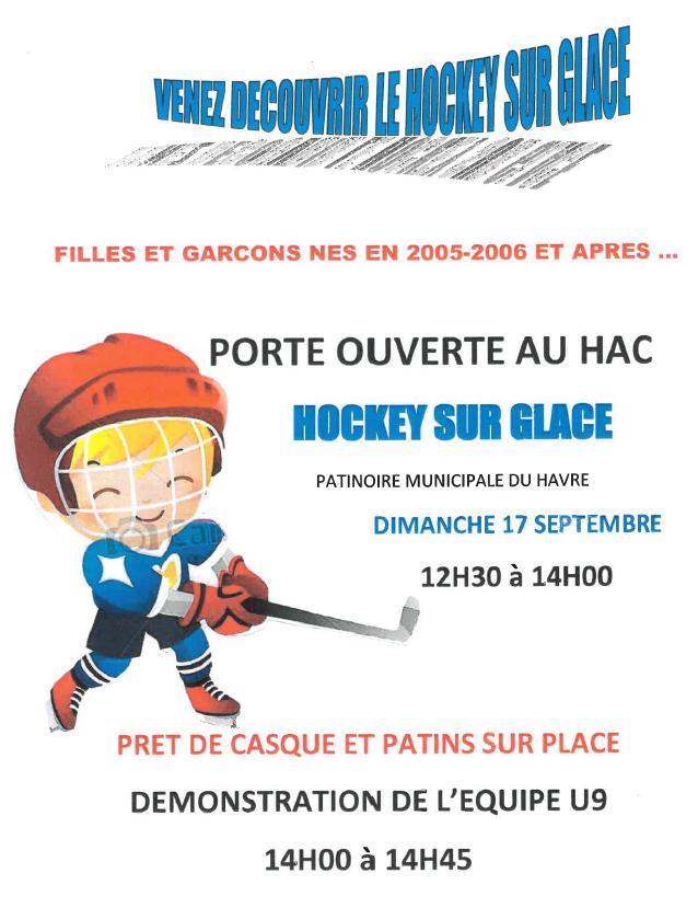 Portes ouvertes au HAC Hockey sur Glace