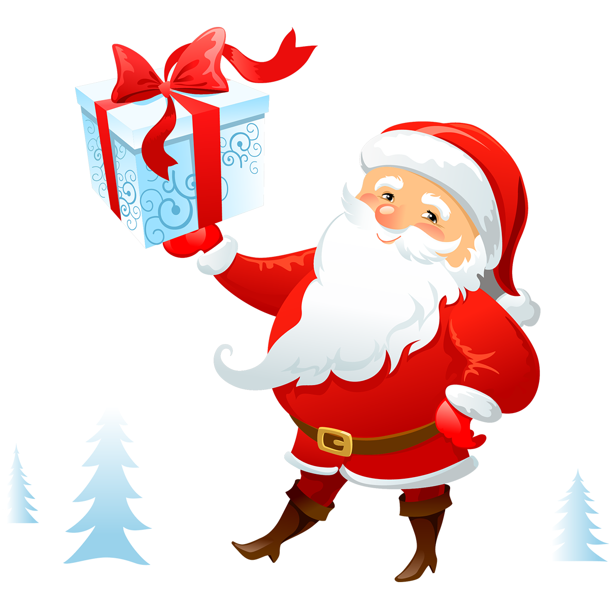 Le Père Noëlà la patinoire !