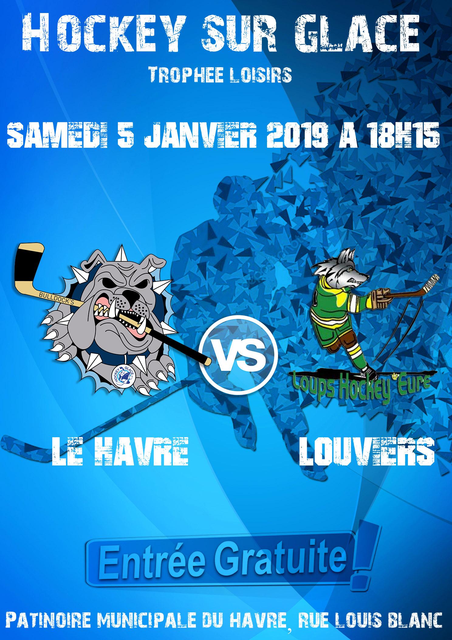 Trophée Loisirs : Le Havre vs Louviers A : l'affiche !