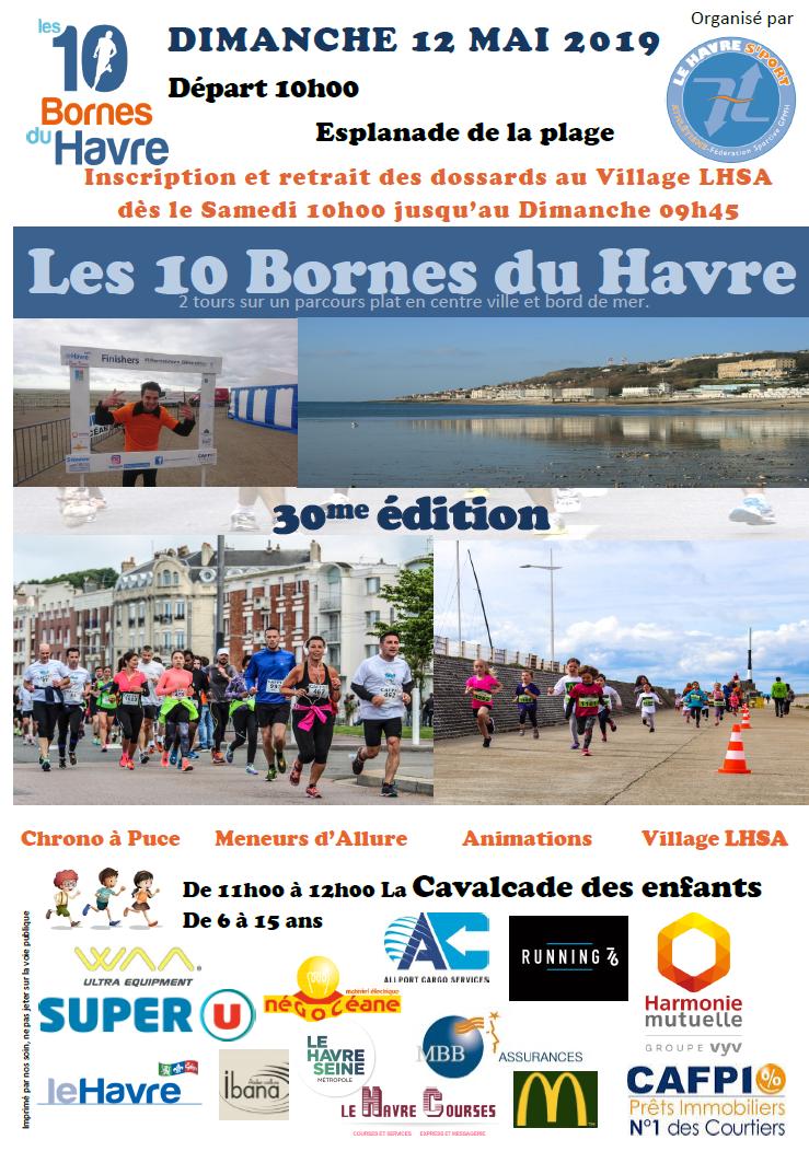 Les 10 bornes du Havre